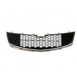 Grille de calandre inférieure Chevrolet Cruze 2009 à 2012 (Noire /Chromée)