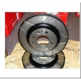 Jeu de 2 disques de frein Seat Inca Toledo Vw Caddy 2 Golf 3 4 Passat Vento