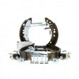 Kit de frein premonte a tambours Citroen C2 C3 Hdi Peugeot 1007 1.4 Hdi