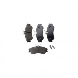 Jeu de 4 Plaquettes de frein avant Citroen Berlingo Xsara Picasso Peugeot 206 Partner