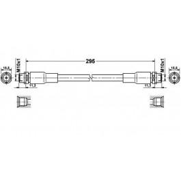 Flexible de frein avant Vw Passat 3B Audi A4 A6