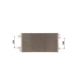 Condenseur de climatisation Nissan Interstar Opel Movano Renault Master