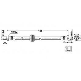 Flexible de frein avant Bmw serie 3 E36