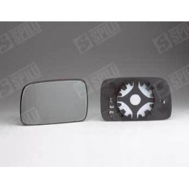 Glace de retro droit + support Elec Dég VW Polo 3 et Classic