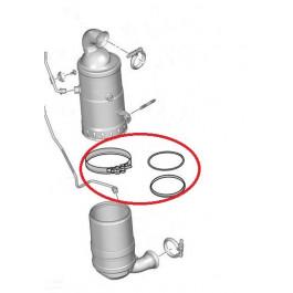 KIT DE MONTAGE Catalyseur / FAP Filtre A Particules ROMAX FAP 1.6 HDI