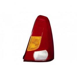 Feu arrière droit avec clignotant orange sans porte ampoules pour Dacia Logan