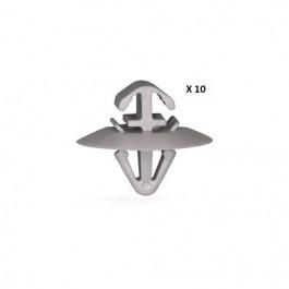 10 Clips panneau de porte Iveco Daily Opel Movano Renault Kangoo Master Trafic