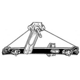Leve vitre manuel arrière droit Bmw serie 1
