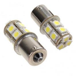 2 Ampoules veilleuses à led effet Xenon Ba15s