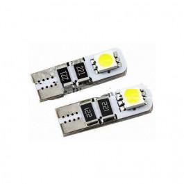 2 Ampoule veilleuse à led effet Xenon w5w t10